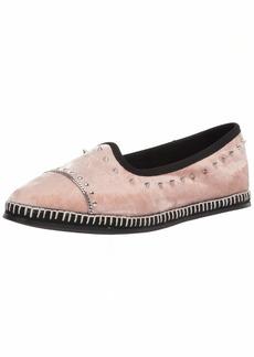 Giuseppe Zanotti Women's E160008 Velvet Loafer Flat