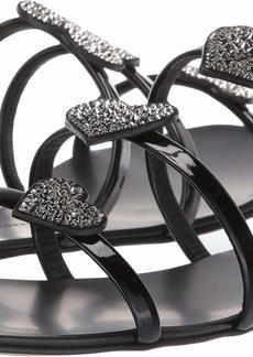 Giuseppe Zanotti Women's E900017 Flat Sandal  8.5 Medium US