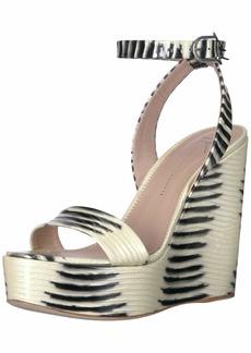 GIUSEPPE ZANOTTI Women's E00036 Wedge Sandal   B US
