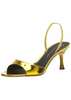 GIUSEPPE ZANOTTI Women's E900074 Heeled Sandal   Medium US