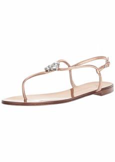 Giuseppe Zanotti Women's I00009 Flat Sandal ramino  B US