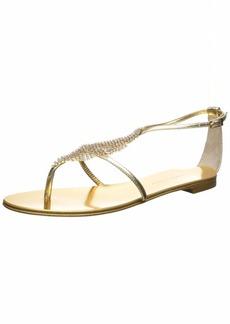 GIUSEPPE ZANOTTI Women's I900012 Flat Sandal   B US