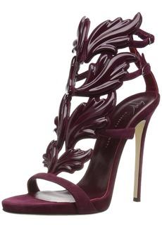 Giuseppe Zanotti Women's I700011 Dress Sandal  M US burgundy