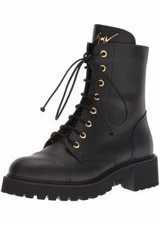 Giuseppe Zanotti Women's I870055 Combat Boot  7.5 B US