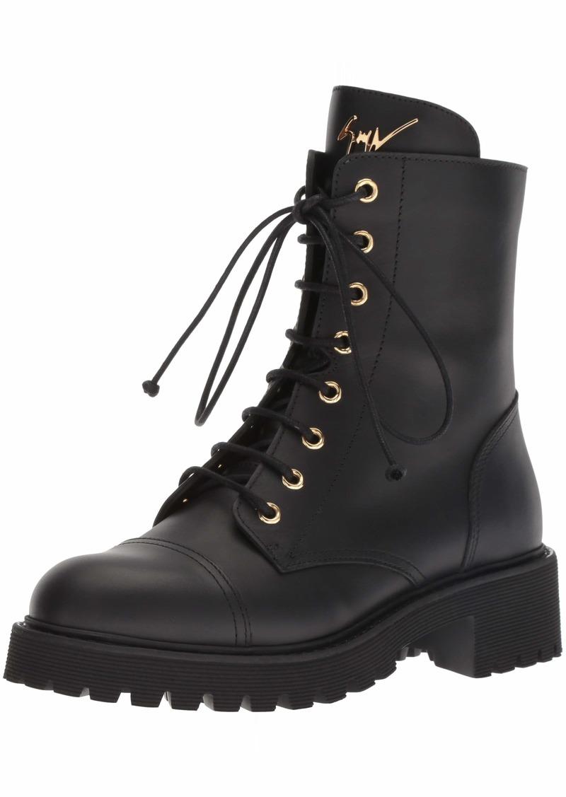 Giuseppe Zanotti Women's I870055 Combat Boot   B US