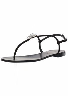 GIUSEPPE ZANOTTI Women's I900013 Flat Sandal   B US