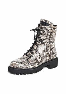 Giuseppe Zanotti Women's I970005 Combat Boot  8.5 B US