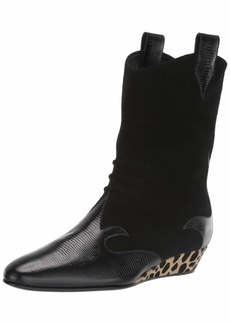 GIUSEPPE ZANOTTI Women's I7004 Fashion Boot Black (Nero 8342)  B US