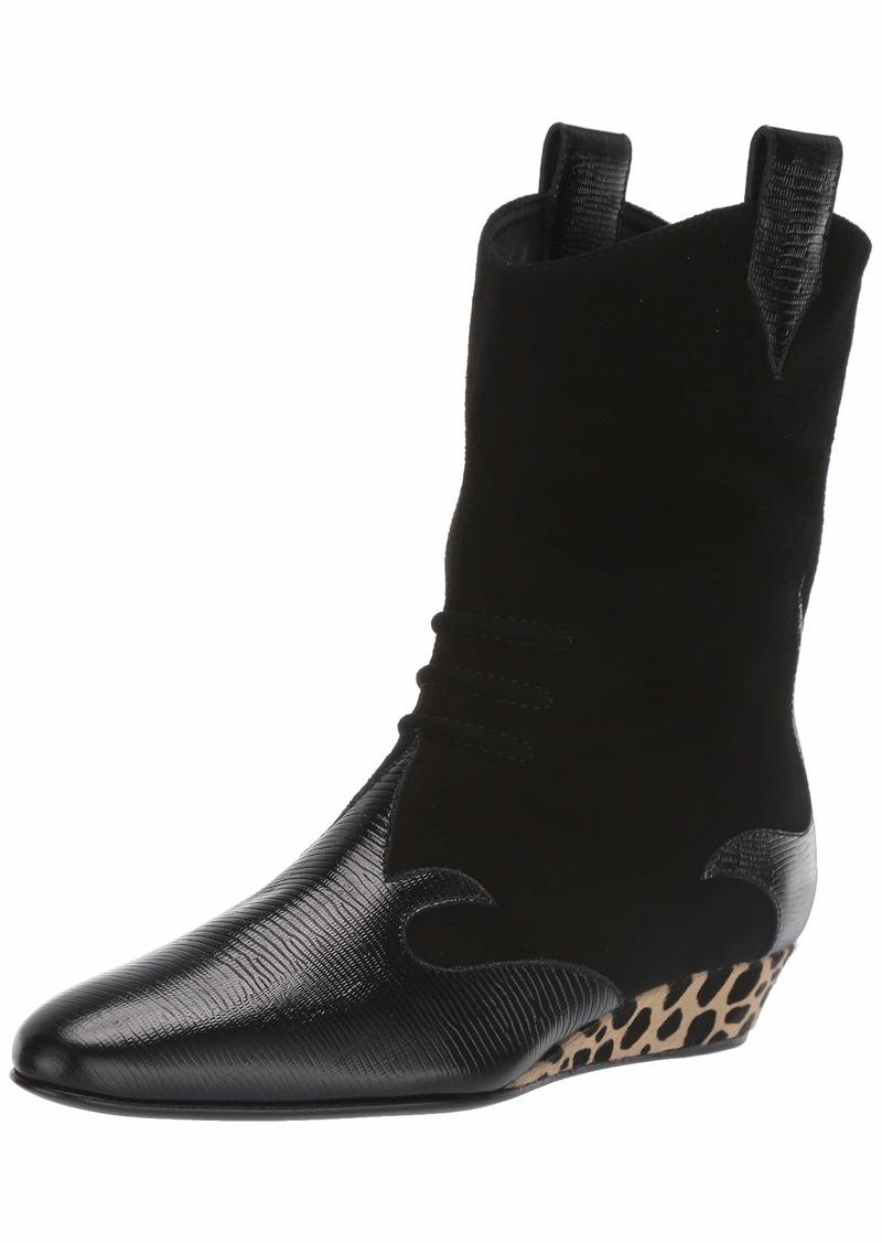 GIUSEPPE ZANOTTI Women's I7004 Fashion Boot Black (Nero 8342)  B US
