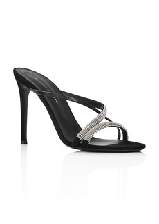 Giuseppe Zanotti Women's PF19 Crystal-Embellished High-Heel Sandals