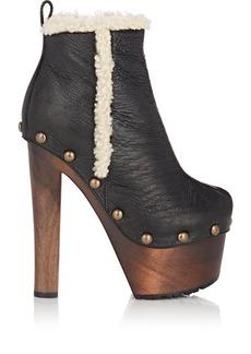 Giuseppe Zanotti Women's Platform Ankle Boots-BLACK Size 9