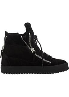 Giuseppe Zanotti Women's Shearling-Lined Double-Zip Sneakers
