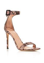 Giuseppe Zanotti Women's Snake Print High-Heel Sandals