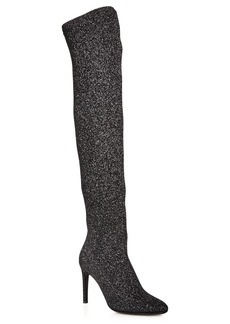 Giuseppe Zanotti Women's Stretch Glitter Over-the-Knee Boots