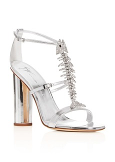 Giuseppe Zanotti Women's Svamp Embellished High-Heel Sandals