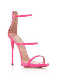 Giuseppe Zanotti Women's Vernice Patent Leather Ankle Strap High-Heel Sandals