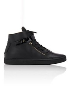Giuseppe Zanotti Women's Women's Leather Ankle-Strap Sneakers