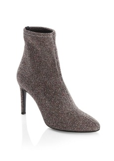 Glitter Lurex Ankle Boots