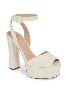 Giuseppe Zanotti Platform Block Heel Sandal (Women)