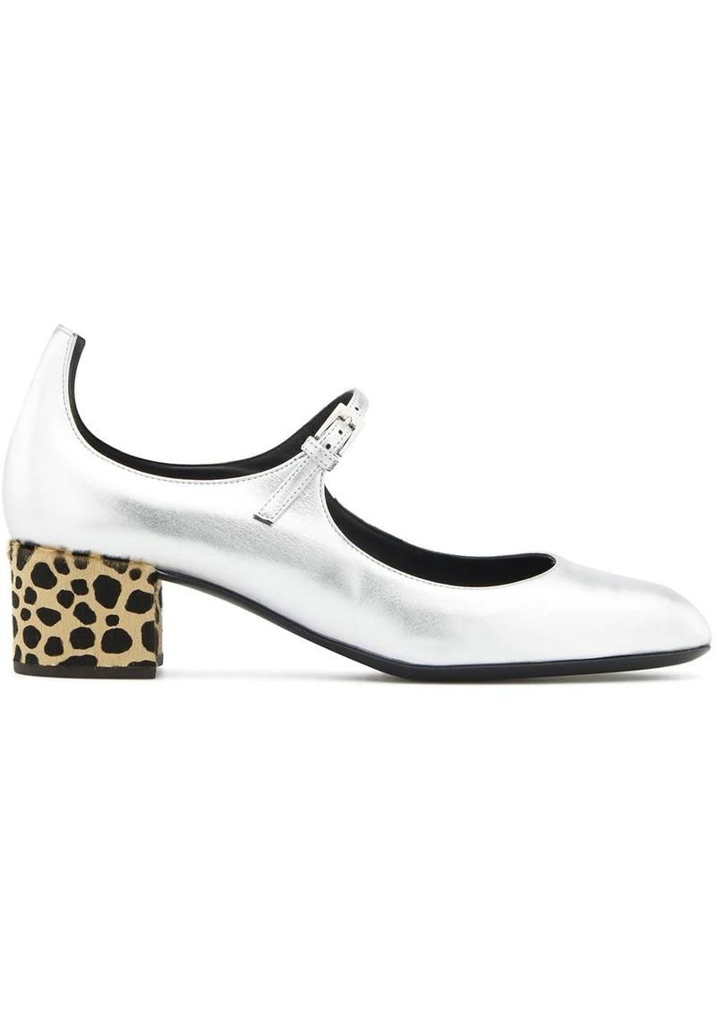Giuseppe Zanotti Heidi Feline ballerina shoes