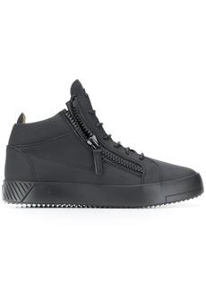 Giuseppe Zanotti hi-top zipper sneakers