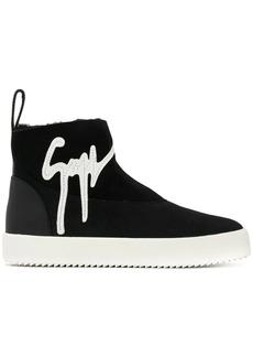 Giuseppe Zanotti high-top logo sneakers