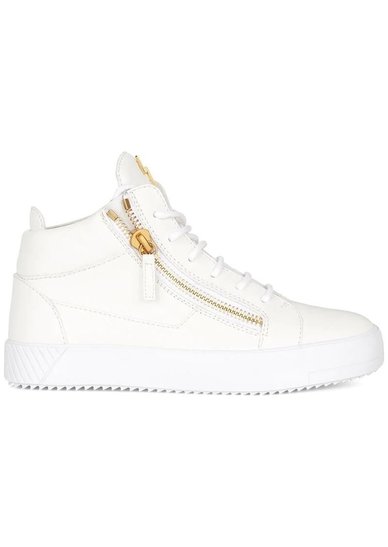 Giuseppe Zanotti high top zipped sneakers