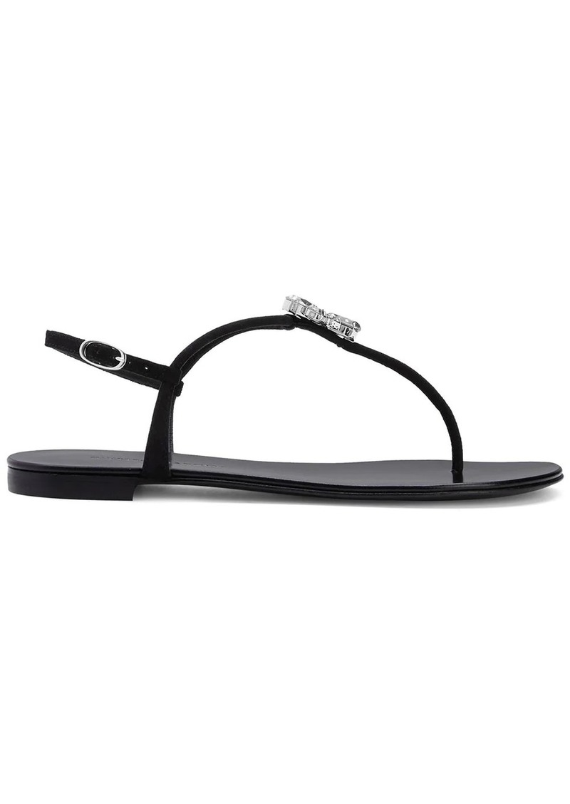 Giuseppe Zanotti Hollie cyrstal-embellished sandals