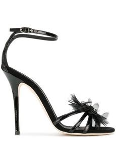 Giuseppe Zanotti jewelled corsage sandals