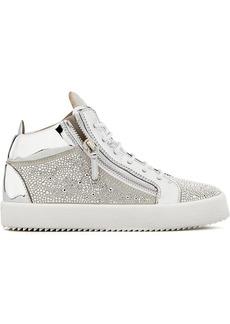 Giuseppe Zanotti Justy crystal studded sneakers