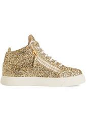 Giuseppe Zanotti Kriss glitter high-top sneakers