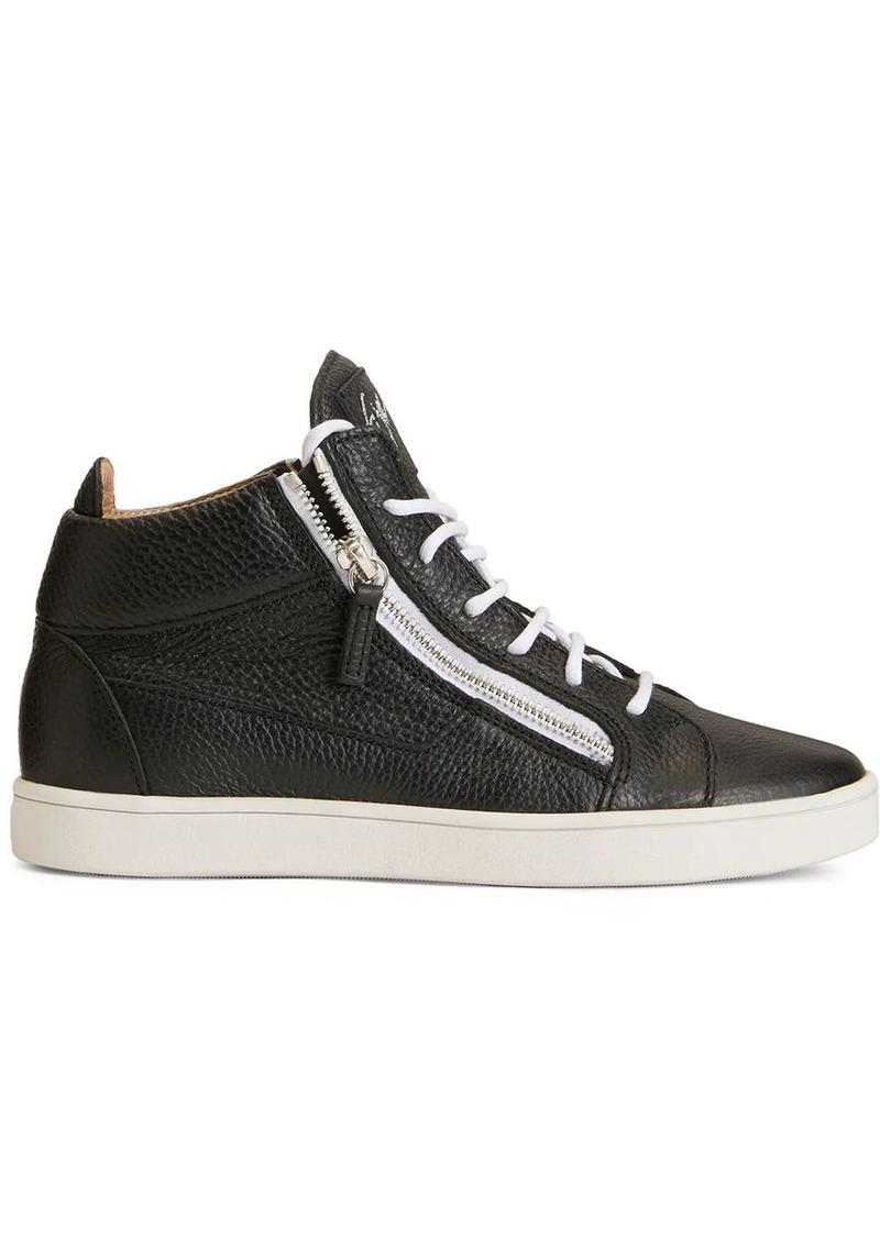 Giuseppe Zanotti Kriss leather trainers