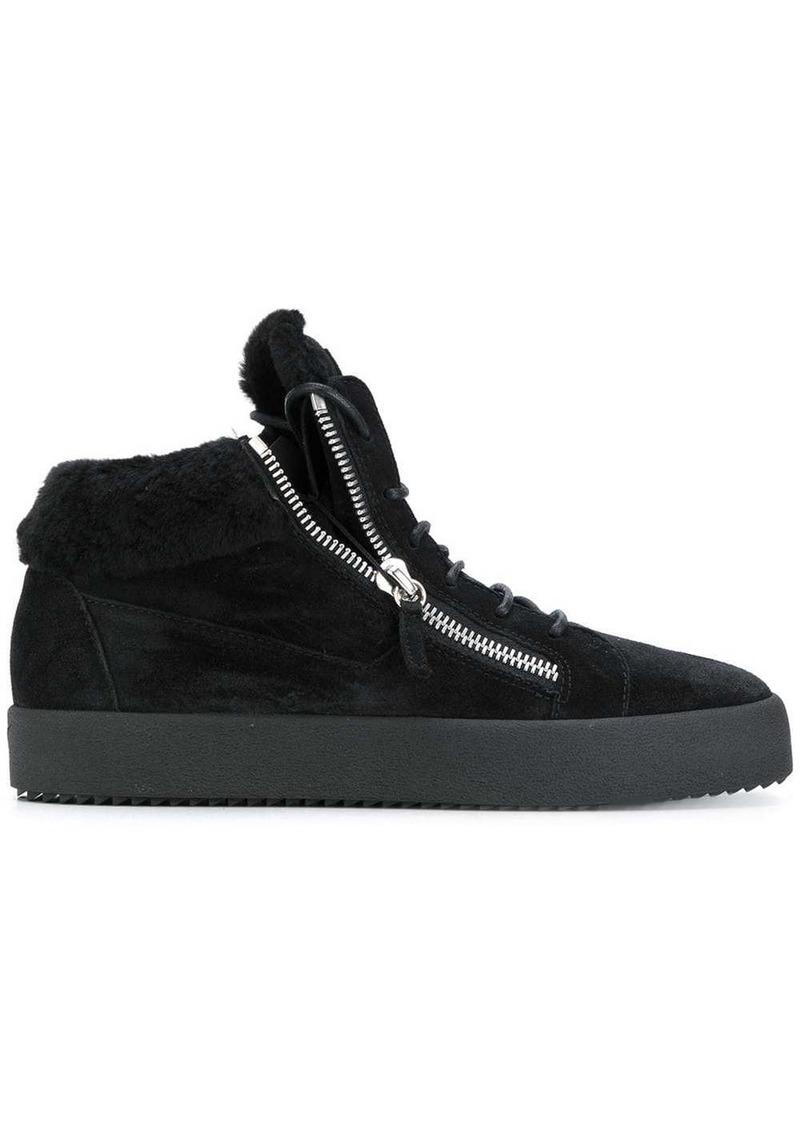 Giuseppe Zanotti Kriss shearling lined sneakers