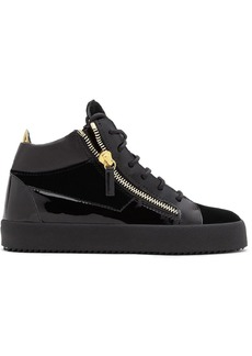 Giuseppe Zanotti Kriss zipped high top sneakers