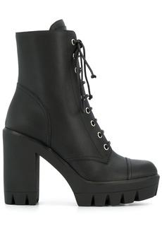Giuseppe Zanotti lace-up platform boots