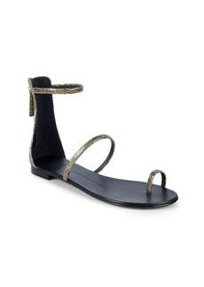 Giuseppe Zanotti Leather Ankle-Strap Sandals