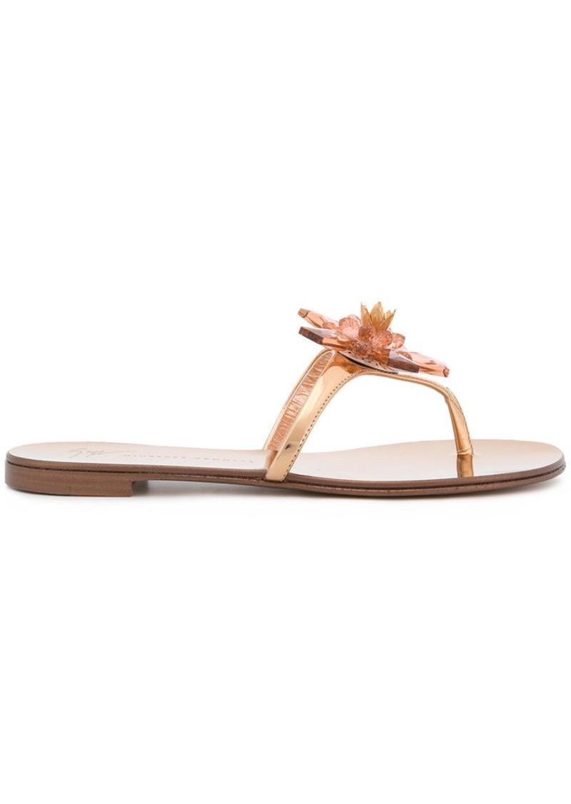 Giuseppe Zanotti Letizia flip flops
