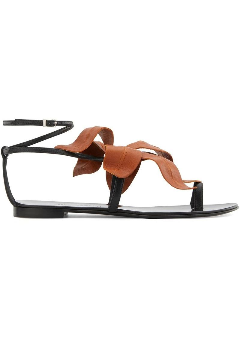 Giuseppe Zanotti Lilium flat sandals