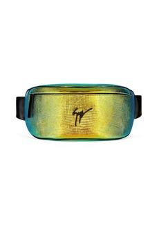 Giuseppe Zanotti logo zipped belt bag