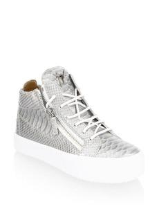 Giuseppe Zanotti May London High Top Leather Sneakers