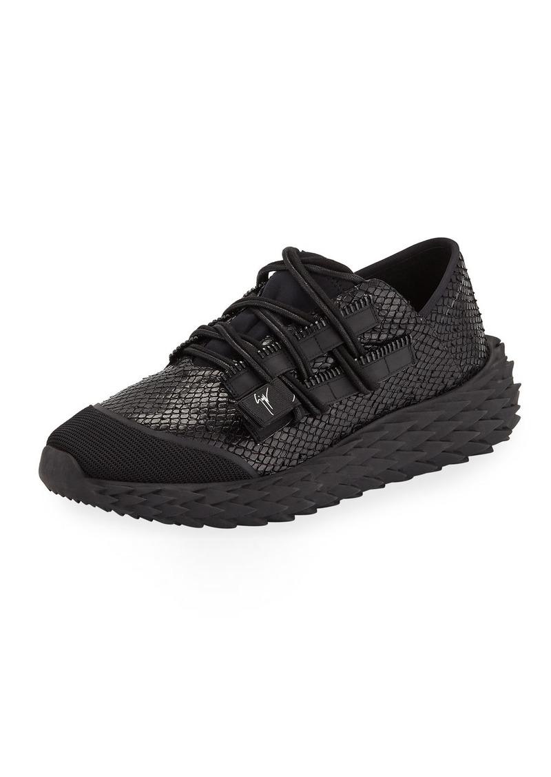 Giuseppe Zanotti Men's Snake Urchin Sneakers