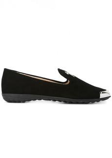 Giuseppe Zanotti metallic detail slippers