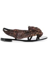 Giuseppe Zanotti Milonga leopard sandals
