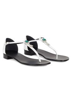 Giuseppe Zanotti Misaki crystal-embellished sandals