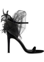 Giuseppe Zanotti Odile 105mm bow-appliqué sandals