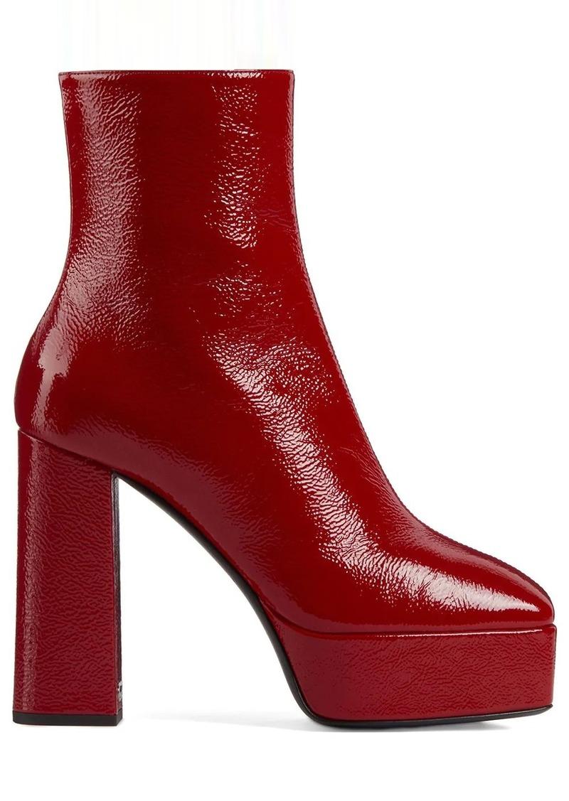 Giuseppe Zanotti paltform ankle boots
