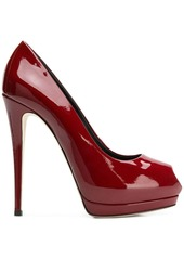 Giuseppe Zanotti peep toe pumps