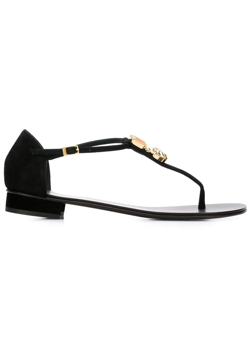 Giuseppe Zanotti pendant T-bar sandals