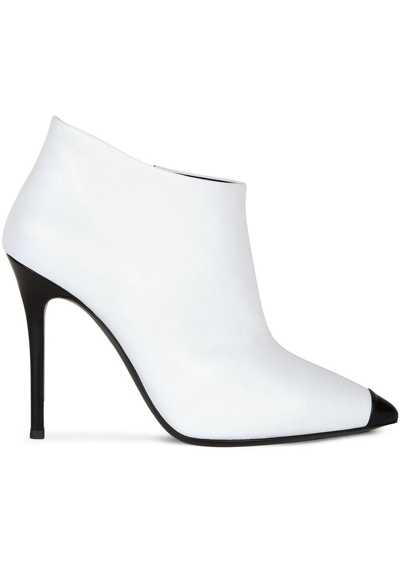 Giuseppe Zanotti pointed leather ankle boots