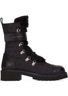 Giuseppe Zanotti quilted combat boots